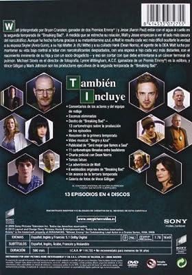 Breaking Bad T2 (4) [DVD]: Amazon.es: Cranston, Bryan, Gunn, Anna, Scorsese, Martin, Cranston, Bryan: Cine y Series TV