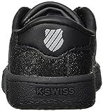 K-Swiss Classic VN Sneaker, Black/Sparkle, 7 M US