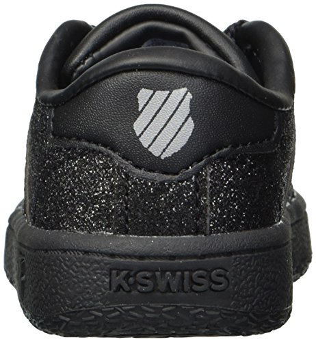 Vn Kids' Black sparkle K Sneaker swiss Classic tw1O8xfqC
