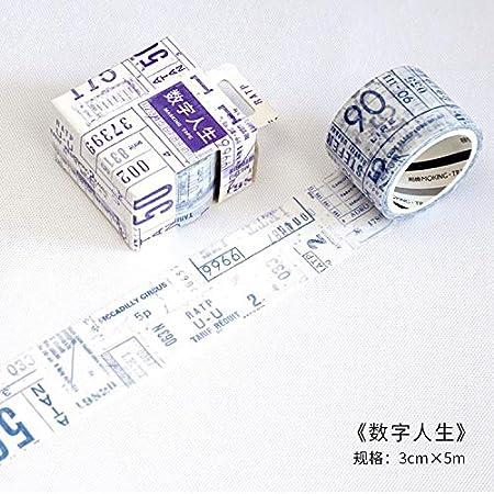 JBSZWDD Nastro Washi Tema Di Viaggio Nastro Washi Nastri Decorativi Decorazioni Fai Da Te Planner Adesivo Scrapbooking Etichetta Adesiva Etichetta