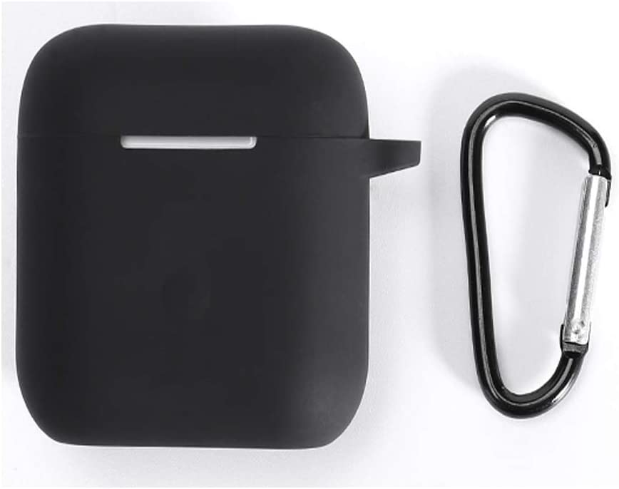 Case for Airpods 1/&2 Case TPU 3D Cute Airpods Cover Shock Proof Black