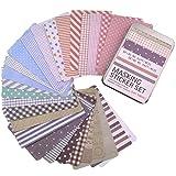 27 Sheets Korea Pretty Sticker , Marrywindix Washi Masking Tape Set - Sticker Paper Colorful Paper Tape-Basic#3