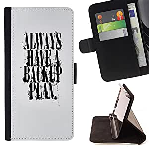 - Always Back up plan - - Monedero PU titular de la tarjeta de cr?dito de cuero cubierta de la caja de la bolsa FOR LG G2 D800 Retro Candy