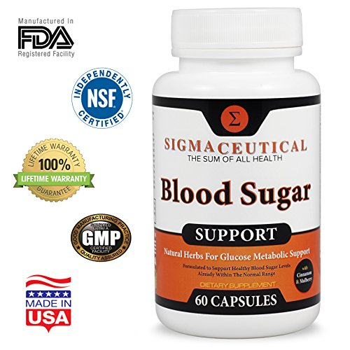 Metabolic Syndrome Supplements - Blood Pressure, Cholesterol Lowering & Blood Sugar – 6 Month Bundle by Sigmaceutical (Image #2)