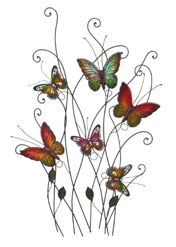 Deco 79 Metal Wall Decor, 32 by 20""