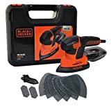BLACK+DECKER KA2500K-GB Next Generation Mouse Sander with Kit Box and...