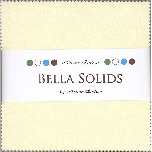 Quilt Fabric Charm Packs - Bella Solids Neutral Moda Charm Pack By Moda Fabrics; 42-5