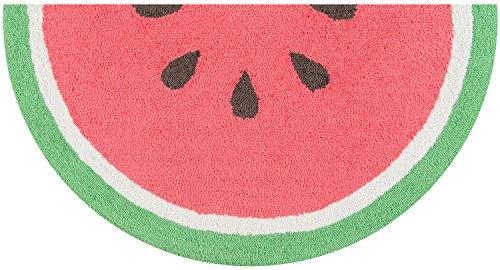 Novogratz by Momeni CUCINCNA-3RED1630 Cucina Watermelon Kitchen Mat, 1'6