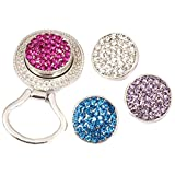 BMC Interchangeable Snap Centerpiece Eye Glass Holding Magnetic Brooch - Set 5
