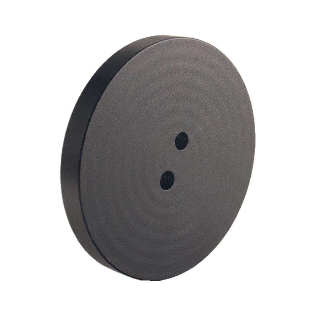 Dewhel Jack Pad Adapter Billet Anodized Black Aluminum Floor Jack For Corvette C7/C6 Premium bolt on Jack Points - 4 pack by DEWHEL (Image #2)