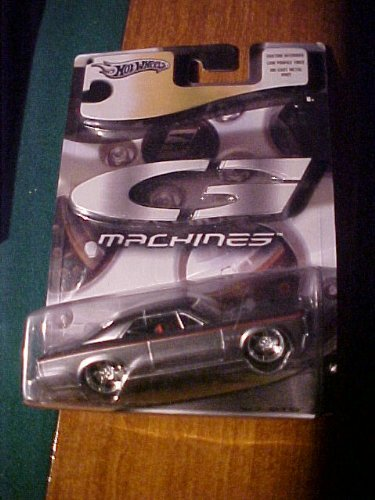 67 Gto G Machines Siler with Red Pin Stripe Diecast