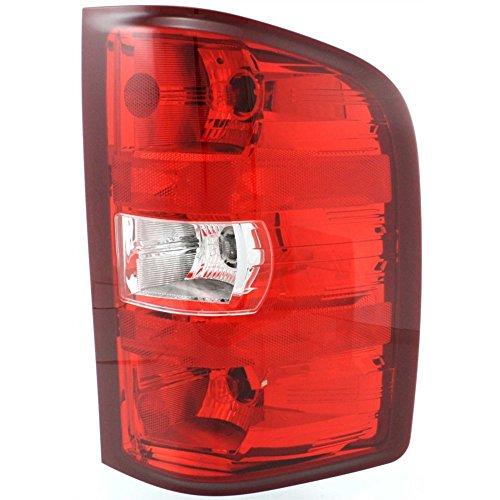 (Tail Light for 2007-2013 Chevrolet Silverado 1500 & 2007-2010 Silverado 2500 HD Right Side)