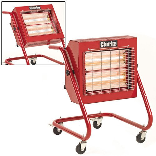CLARKE DEVIL 371SP 110V QUARTZ HALOGEN HEATER SP