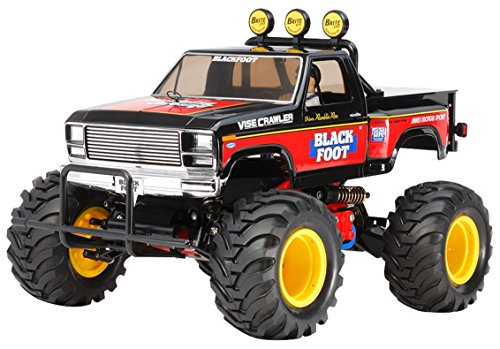 - Tamiya TAM58633 Rc Blackfoot 2016, Brown