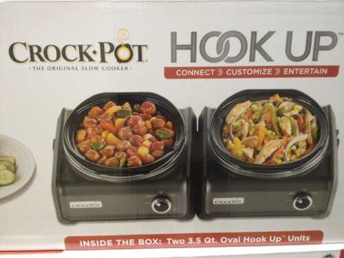 Crock-pot Hookup/two -3.5 Qt Connectable System (Hookup Crock Pot compare prices)