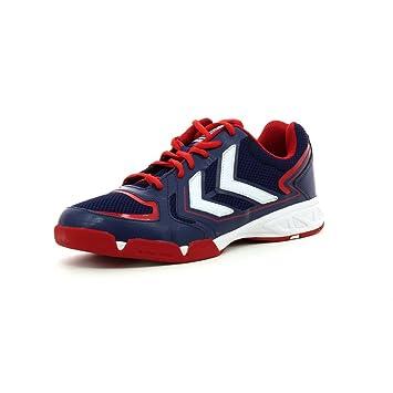 Hummel - Zapatillas de Balonmano Hombre azul Talla:44: Amazon.es: Deportes y aire libre