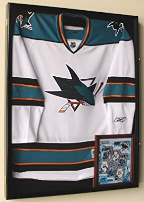 NHL Hockey Jersey Display Case Cabinet