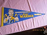 1999 Kurt Warner St. Louis Rams Football Pennant