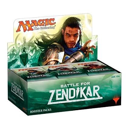 amazon com magic the gathering mtg battle for zendikar booster