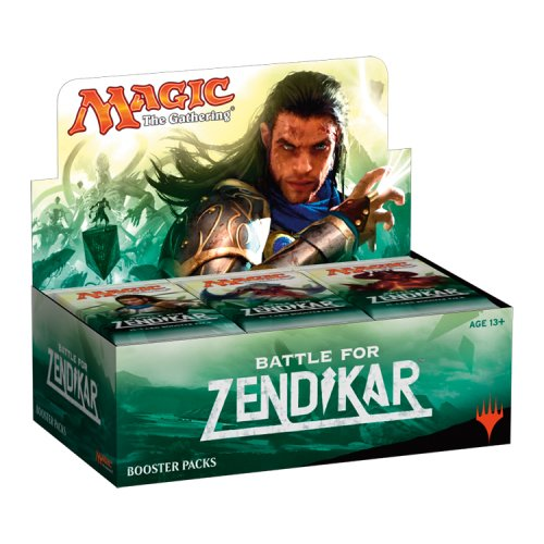 Magic the Gathering (MTG) Battle for Zendikar Booster Box Display (36 packs) by Wizards of the Coast