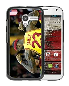 Fashionable And Unique Designed Cover Case With lebron james 2 Black For Motorola Moto X Phone Case
