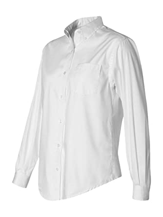347ff24f8c Van Heusen Women s Wrinkle Free Pinpoint Oxford Shirt at Amazon ...