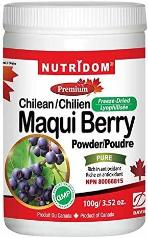 Amazon Com Nutridom Maqui Berry Powder 100g 3 52 Oz Health