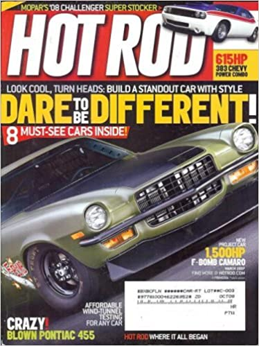 Hot Rod Magazine March 2007 New Project Car 1 500hp F Bomb