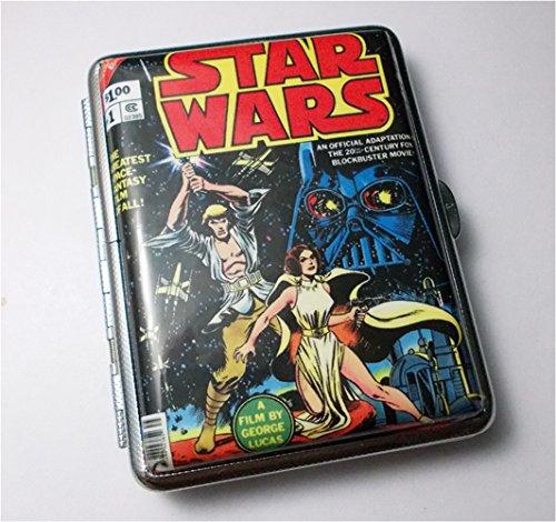 - Retro Vintage Star Wars Cover Art Regular Cigarette Case