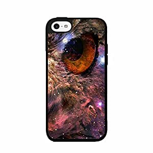 Fox Fur Nebula Owl TPU RUBBER SILICONE Phone Case Back Cover iPhone 4 4s