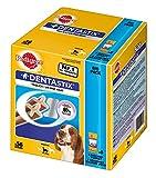 Купить Pedigree DentaStix Hundesnack für mittelgroße Hunde (10-25kg), Zahnpflege-Snack mit Huhn und Rind, 1 Packung je 56 Stück (1 x 1.44 kg)