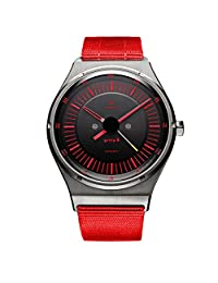 AUTODROMO GROUP B RED AUTOMATIC WATCH NEW ORIGINAL