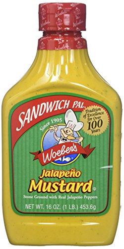 Woeber Mustard Sndwch Pal Jalapeno (2 ()