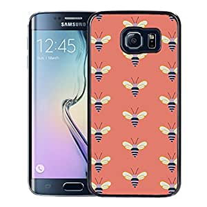 Samsung Galaxy S6 Edge Fossil 35 Black Screen Cellphone Case Luxurious and Sweet Design