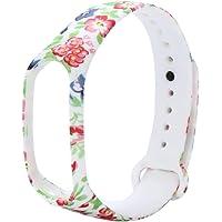 Cooljun pour Xiaomi Mi Band 3, Bracelet Souple en Silicone pour Remplacement de Poignet