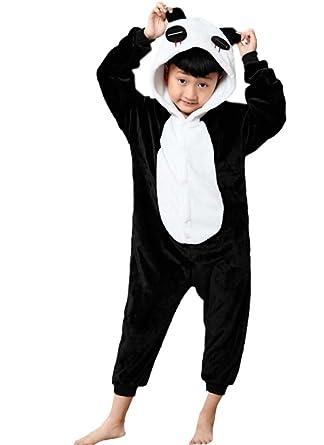 3bce299ccb314 Magicmode Unisexe Enfants De Bande Dessinée De Panda One Piece Grenouillère  Pyjama Costume De Cosplay  Amazon.fr  Vêtements et accessoires