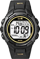Timex Men's T5K457 1440 Sports Digital Black Resin Strap Watch from Timex