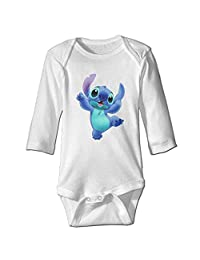 Lilo Stitch Funny Dance Funny Pattern Bodysuits Funny Jumpsuits Baby Onesie Toddler
