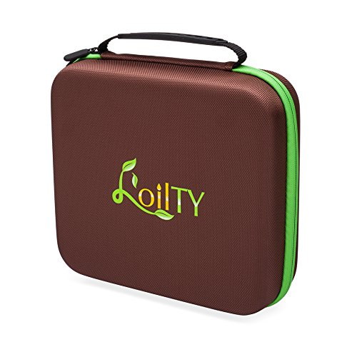 - Essential Oil Carrying Case for Travel, Storage and Display of Essential Oils. BONUS- Oils Key Tool and 192 Bottle Cap Labels Included