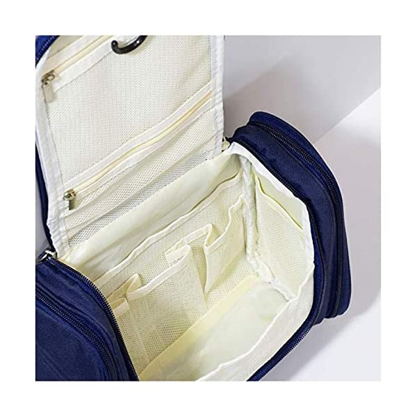 51FmtTFcIYL EAYIRA Fabric Toiletry Bag (Navy Blue_TSB-7_10)
