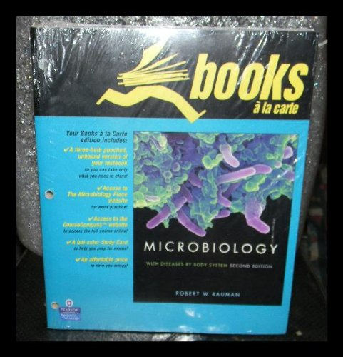 Microbiology with Diseases by Body System, Books a la Carte Edition (2nd Edition)