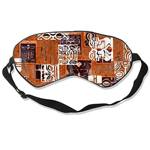 Zoe Diro Sleep Mask Tahitian Tikis Unisex Blackout Eyes Masks ()