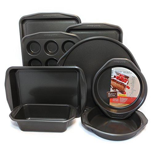 Metal Bakeware Set (Bakers Secret Signature Bakeware Sets (8-Pc Bakware))