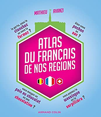 Amazon Fr Atlas Du Francais De Nos Regions Mathieu