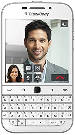 Brand New BlackBerry CLASSIC Q20 ( White Colour ) Seal Pack at amazon