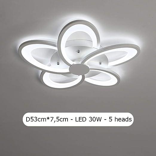 LED Lámpara de Techo pantalla de flor con de forma creativa 35ALcj4RqS