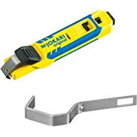 Jokari 70000 Cable Knife System 4-70 Cable Stripping Tool and Extra Bracket | Made in Germany