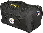 NFL Pittsburgh Steelers Black-Gold Roadblock Duffel Bag
