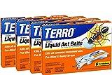 TERRO PreFilled Liquid Ant Killer II Baits, 4-Pack