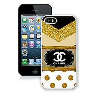Fashionable Customize Hard Phone Case For iPhone 5 5S Cover Case 47 White
